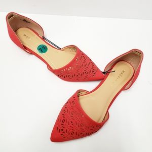 Madden Girl Elly Cut Out Flats Shoes